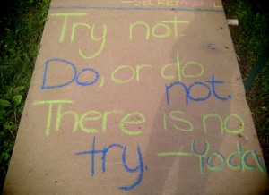 Small Rebellion #4: Special Op Sidewalk Chalk