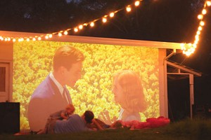 Bring the Magic of a Drive-In Movie to Your Own Backyard