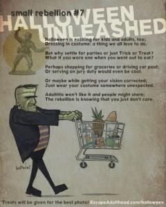 Small Rebellion #7: Halloween Unleashed
