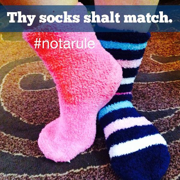 matching-socks