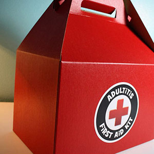 Adultitis First Aid Kit