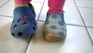 A Tale of Two Blue Shoes