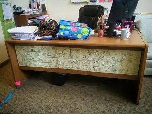 The Post-It Noted Desk