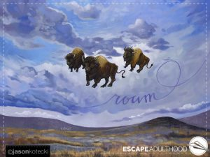 Why Do Buffalo Roam?