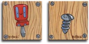 Screwdriver & Screw