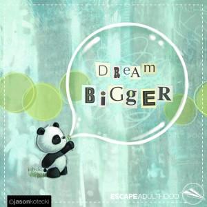 Dream Bigger (Panda)