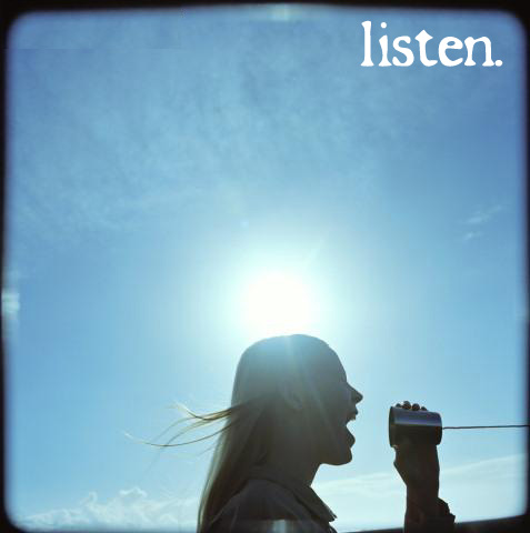 Tip of the Week: Listen Up
