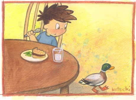 duck_under_the_table
