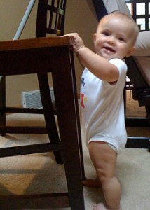 The Right Way to Tackle Life, Brought To You By a Nine-Month-Old