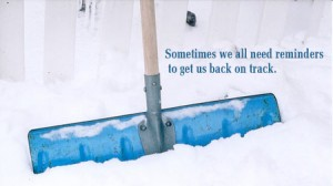 What I Thought About While Shoveling Snow