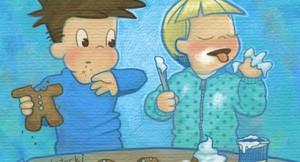 Iowa Mom Shamelessly Wears Footie Pajamas, Eats Frosting by Spoonful