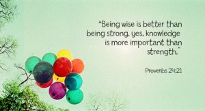 Want Peace? Seek Wisdom