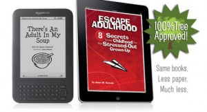 Stress Relief Available on an E-Reader Near You