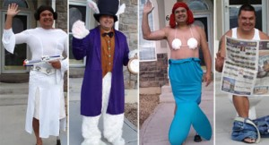 Utah Dad Embarrasses Son Every Morning with Costumes and Waving