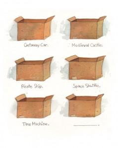 The Cardboard Chameleon