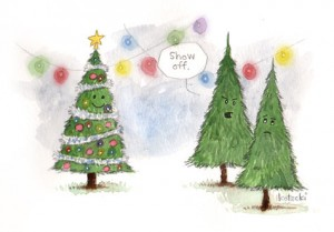 When Christmas Trees Get Jealous
