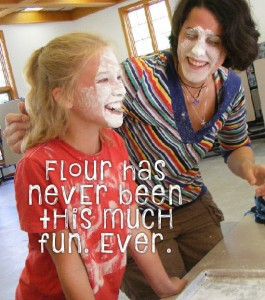 More Cheap Family Fun: The Flour Game