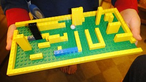 Make a Lego Maze and Amaze Your Friends!