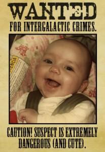 Angelic Infant or Alien Secret Agent?