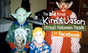 Join the 3rd Annual Kim & Jason Virtual Halloween Parade!