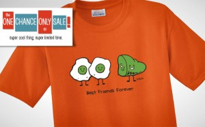 One Chance Only Sale: Green Eggs & Ham T-Shirt