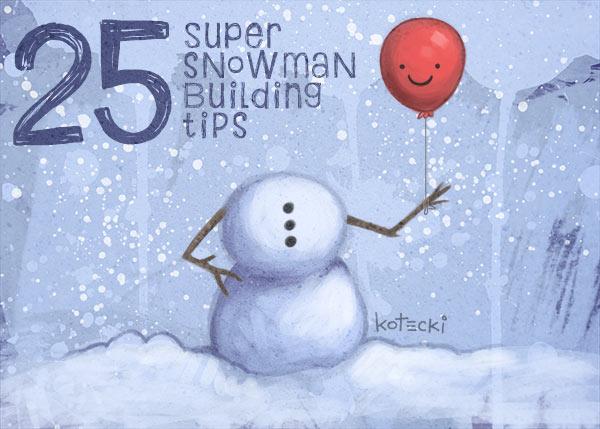 snowman-building-tips