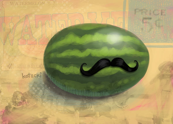 watermelon-with-mustache