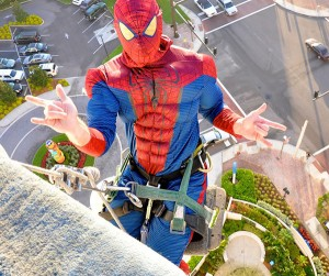 Children's Hospital Hires Spiderman to Fight Grime