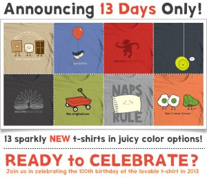 Join Us In Celebrating the 100th Birthday of the Lovable T-Shirt!