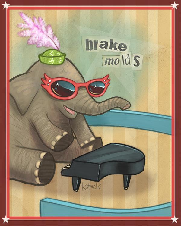brake-molds