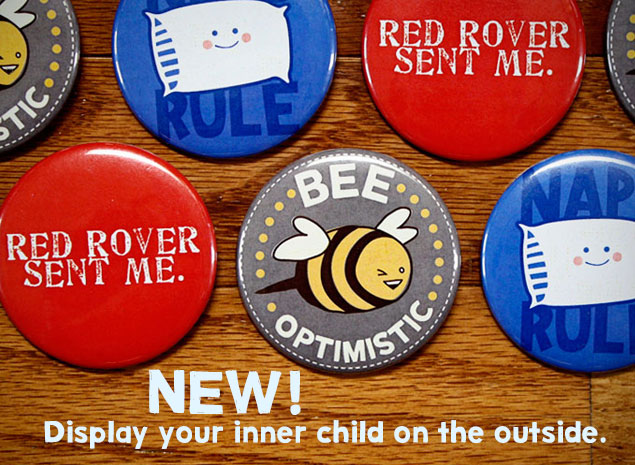 New! Buttons for Sale!