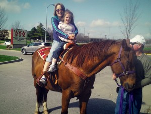 Iowa Mom Grabs Life by the Reins