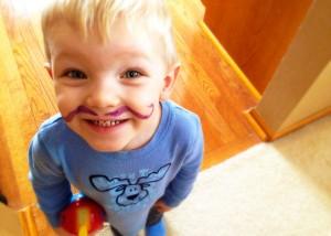Ben's Purple Mustache