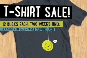 The Two-Week, Twelve Buck T-Shirt Extravaganza
