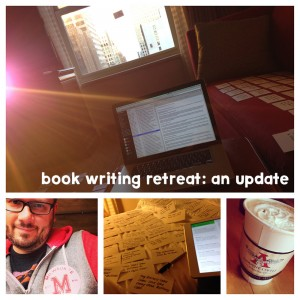 Behind the Scenes of My Book Writing Retreat