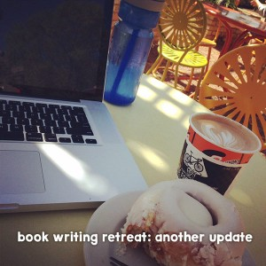 Behind the Scenes of My Book Writing Retreat, Part 2