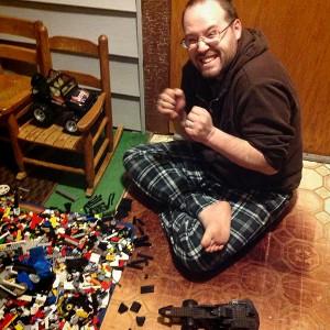 Show & Tell Winner: Lego Maniac