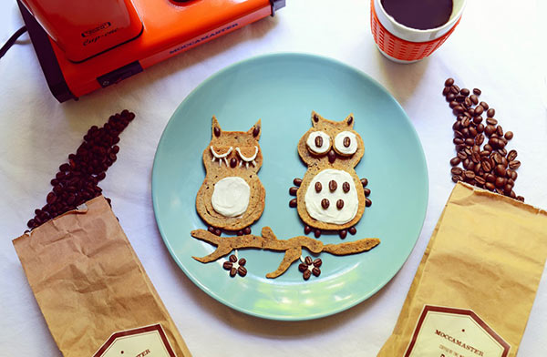 food-art-owls