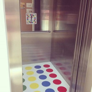 Saturday Morning Sprinkles: Twister in the Elevator Edition