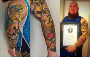 Saturday Morning Sprinkles: Homer Simpson Tattoos Edition