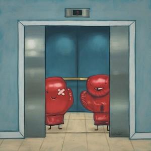 Thou Shalt Not Have Fun in Elevators