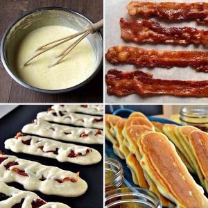 Saturday Morning Sprinkles: Bacon Inside Pancakes Edition