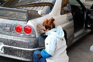 Thou Shalt Not Doodle on Thy Car