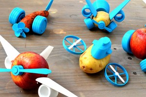 Saturday Morning Sprinkles: Turning Vegetables Into Spaceships Edition