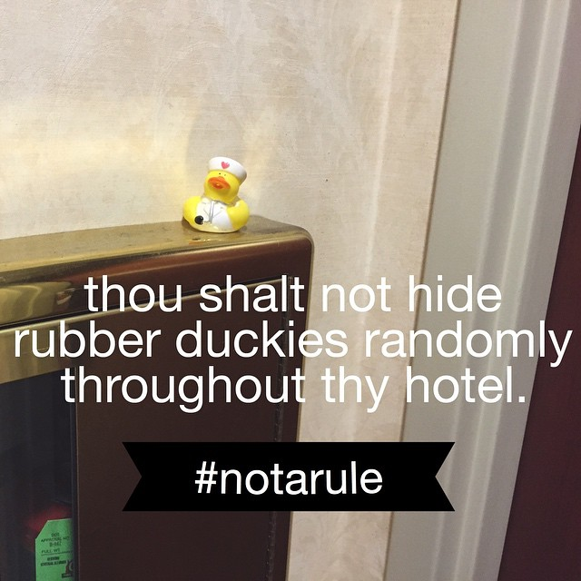duckies-in-hotels