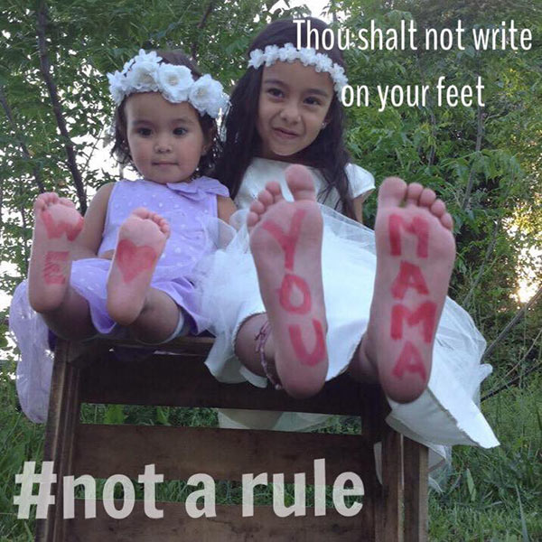 write-on-feet