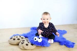 Saturday Morning Sprinkles: Cookie Monster Rug Edition