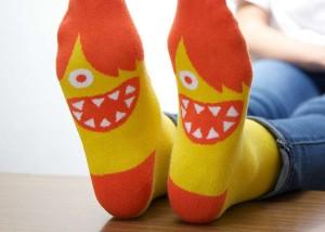 Saturday Morning Sprinkles: Fun Socks Edition