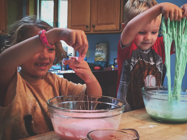 making-slime