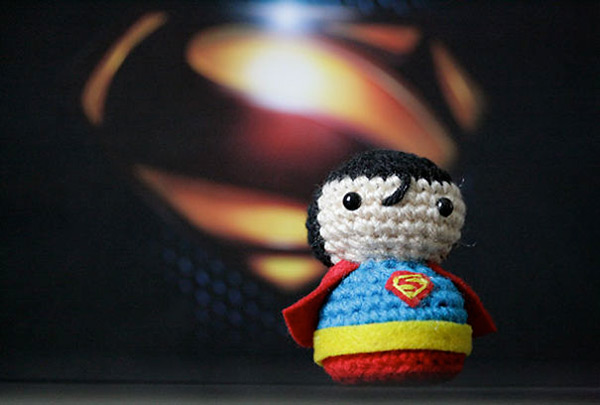 crochet-superman